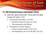 the grace of god in the old testamen t3
