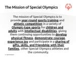 the mission of special olympics1