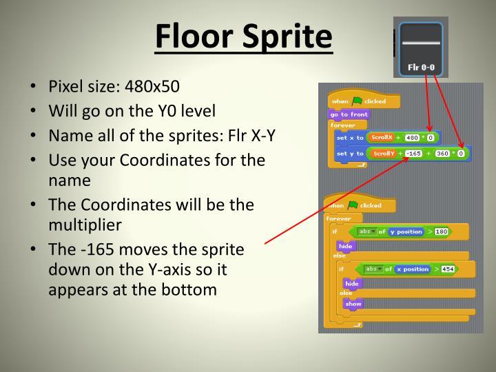 Floor Sprite