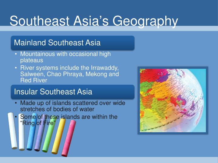 Southeast Asia's Geography
