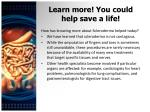 learn more you could help save a life