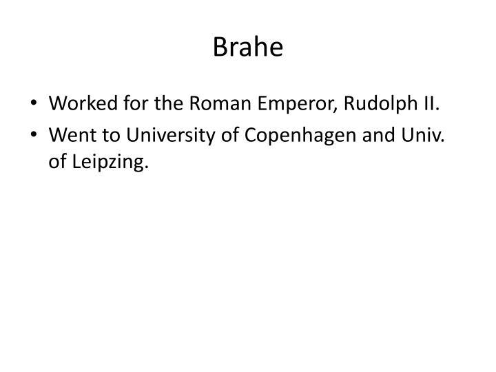 Brahe