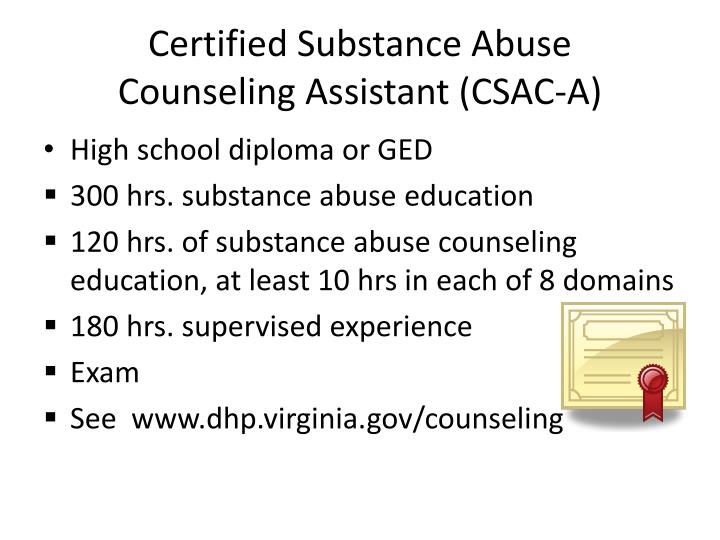 Ppt Becoming An Addiction Professional Licensure And