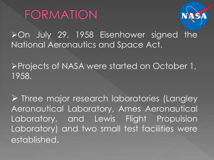 national aeronautics and space act of National aeronautics and space administration transition authorization act of 2017 (s 442, 115th congress) authorizes specified national aeronautics and space administration (nasa) programs for fy2017.