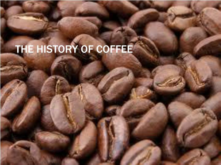 the history of coffee n.