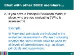 chat with other scee members1