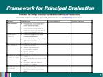 framework for principal evaluation