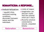 romanticism a response