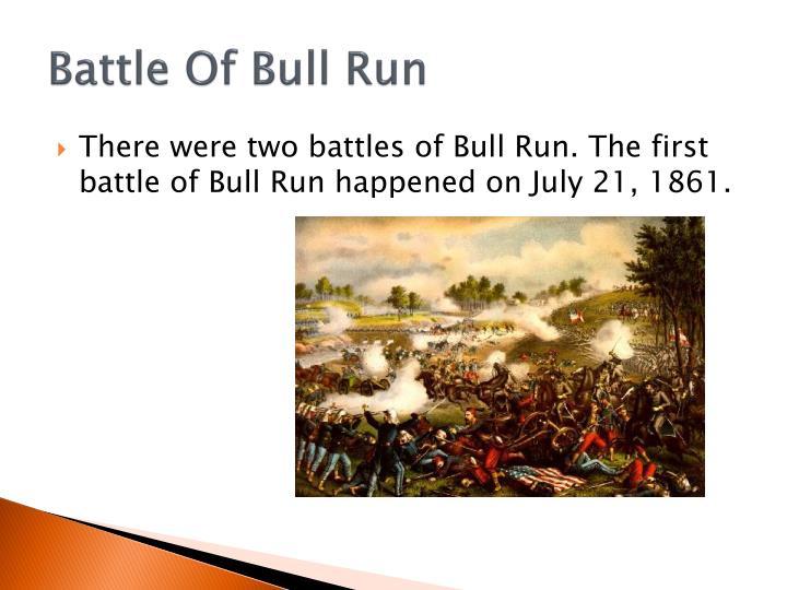 Battle of bull run