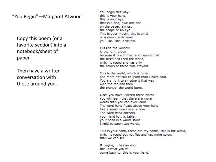 text of margaret atwood essay the longest one way mirror Through the one-way mirror b through the one-way mirror by margaret atwood 4a can you please cite evidence from atwood's essay to support your opinion.