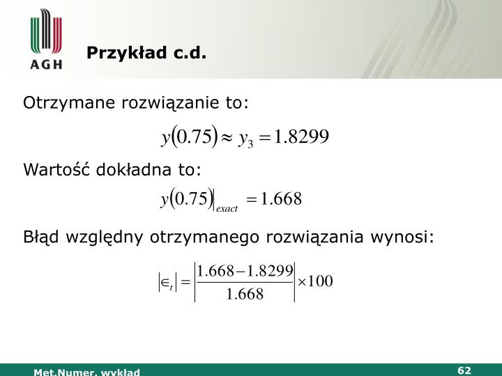 Przykład c.d.
