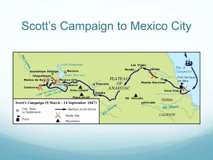 Scott's Campaign to Mexico City