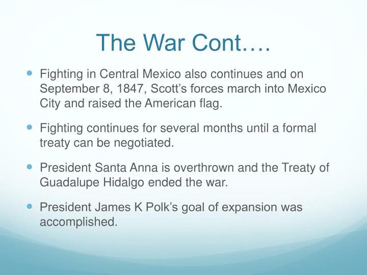 The War Cont….