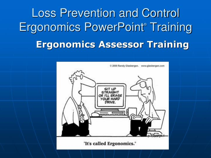 loss prevention and control ergonomics powerpoint training n.