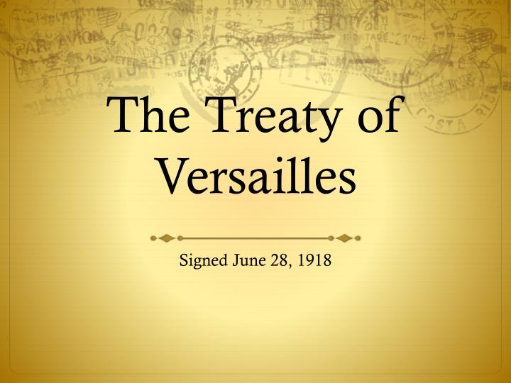 the treaty of versailles essay Essay the treaty of versailles and over other 29,000+ free term papers, essays and research papers examples are available on the website the treaty of versailles was intended to be a peace agreement between the allies and the germans regarding world war 1 in 1919it was certainly not.