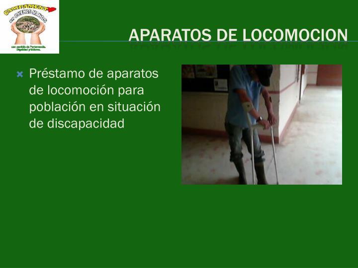 APARATOS DE LOCOMOCION