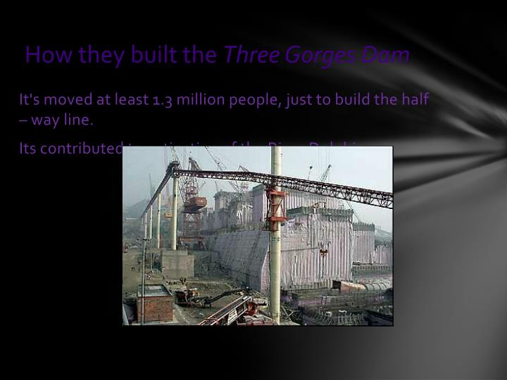 How they built the