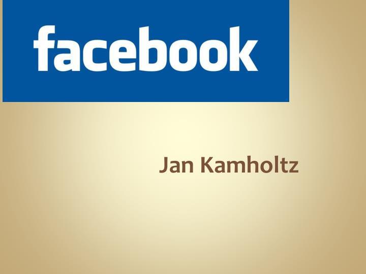 Jan Kamholtz