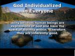 god individualized in everyone