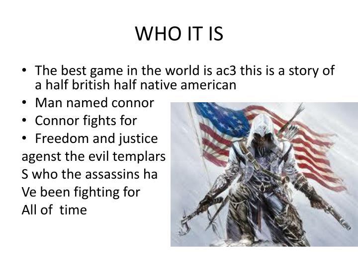 Who it is