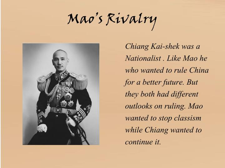Mao's Rivalry