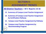 section ii assignment trends2