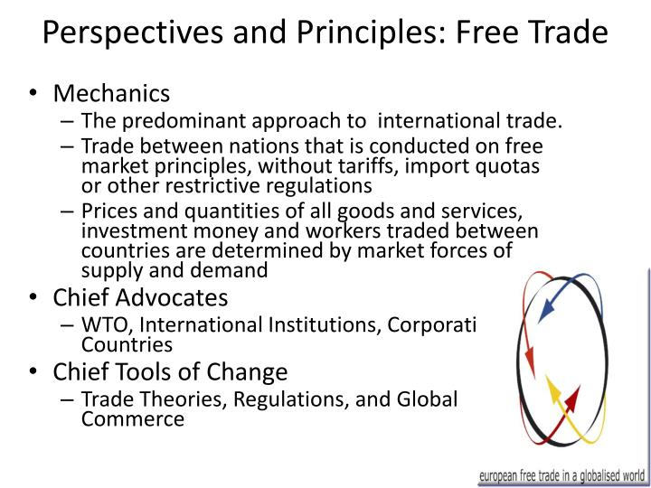 perspectives and principles free trade n.