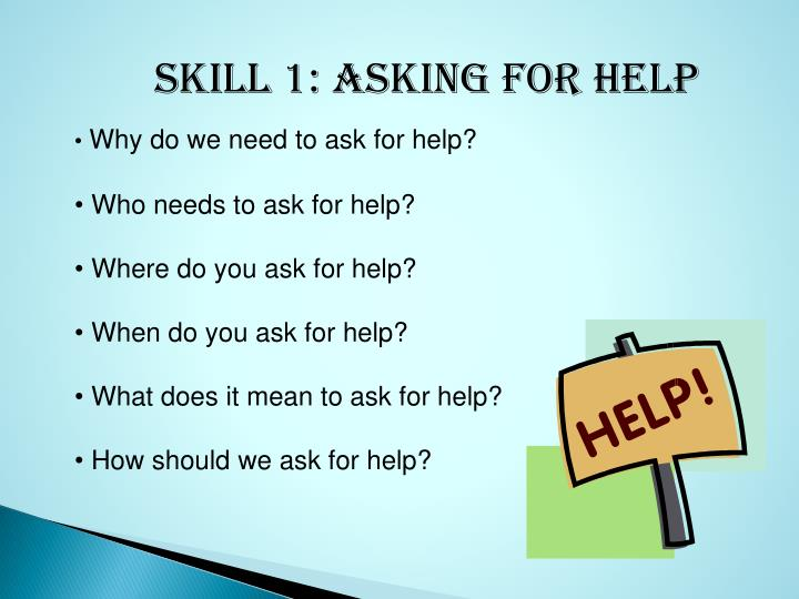 ppt skillstreaming asking for help powerpoint presentation id