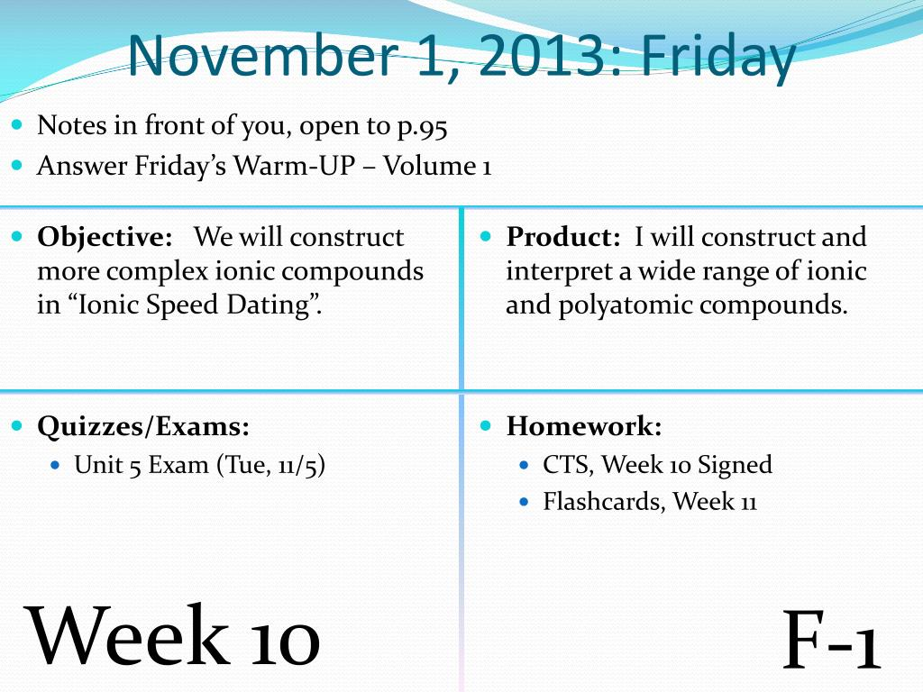PPT - October 28, 2013: Monday PowerPoint Presentation - ID:2856549