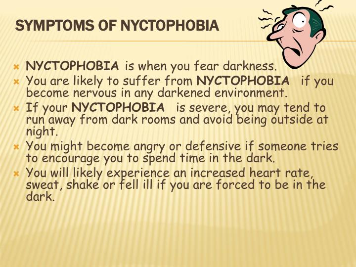 nyctophobia facts