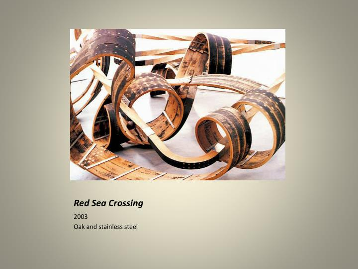 Red sea crossing