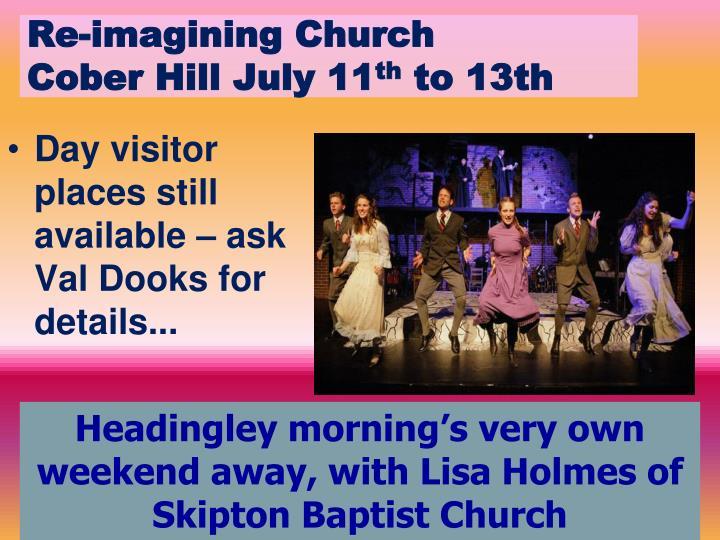Re-imagining Church