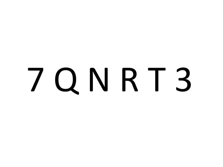 7 Q N R T 3