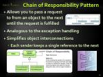 chain of responsibility pattern