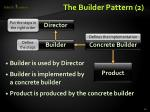 the builder pattern 2