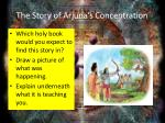 the story of arjuna s concentration