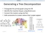 generating a tree decomposition