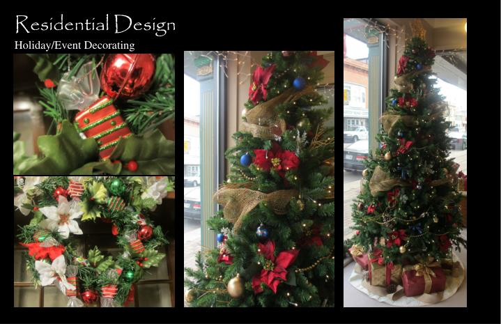 residential design holiday event decorating n.