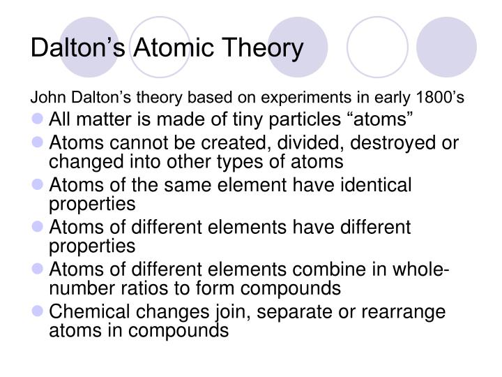 atomic theory studyguide Unit 4 3 development of modern atomic theory -- a summary jj thomson discovered sub-atomic particles common to all elements in cathode ray tube experiments.