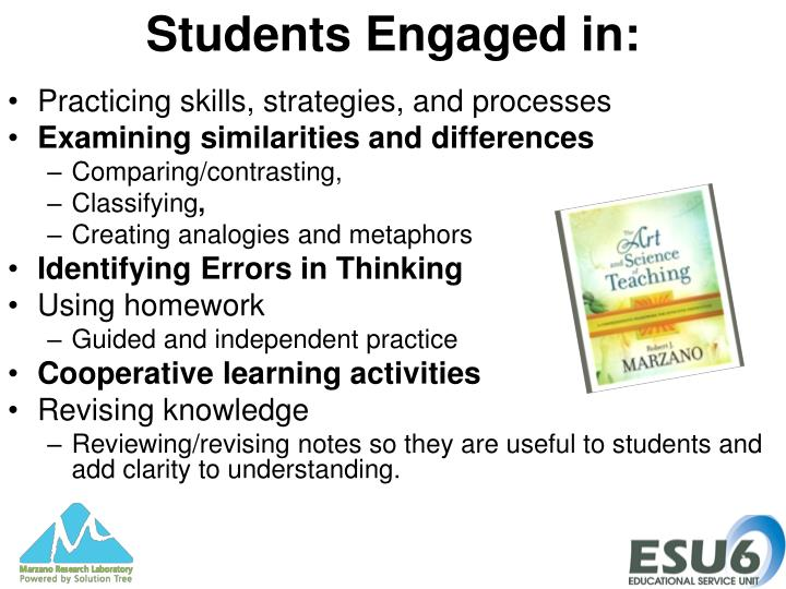 Students Engaged in: