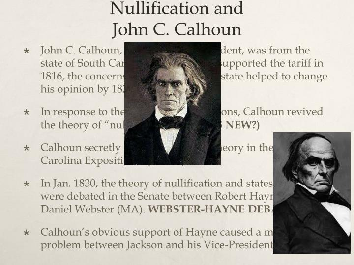 Nullification and