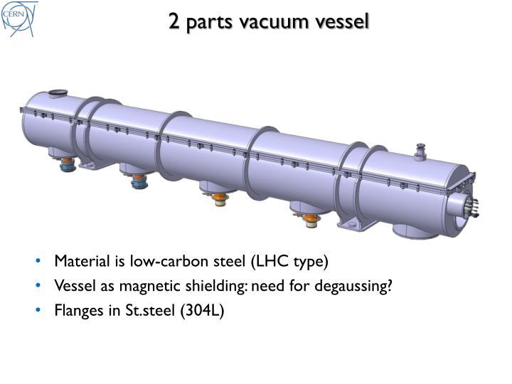 2 parts vacuum
