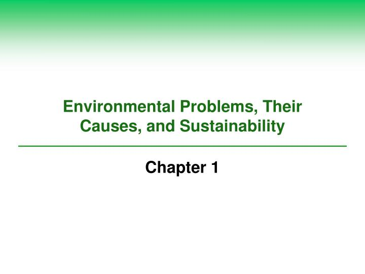 a case study on environmental problems The agency for toxic substances and disease registry (atsdr) is an agency of the us department of health and human services charged under the superfund act to assess the presence and nature of health hazards at specific superfund sites and to help prevent or reduce further exposure and the illnesses that result from such exposures.