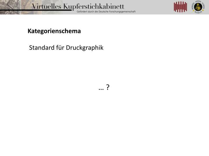 Kategorienschema