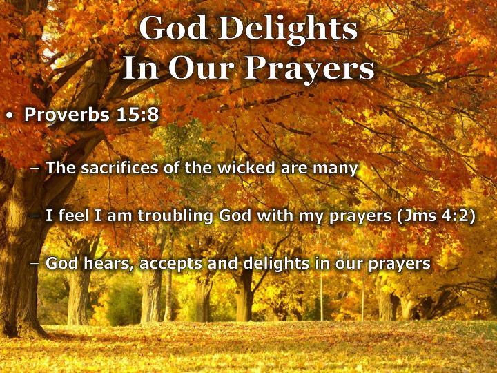 God Delights