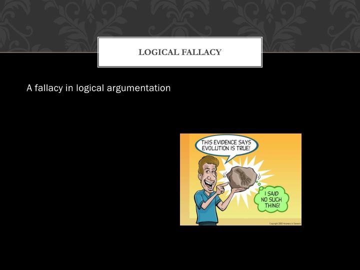 Logical fallacy