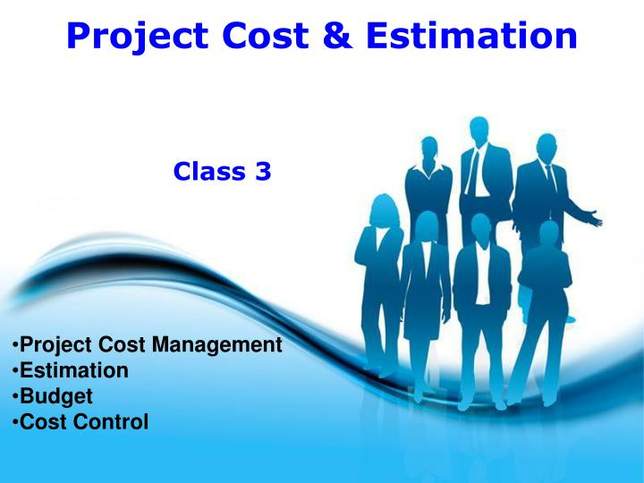 project cost management estimation budget cost control n.