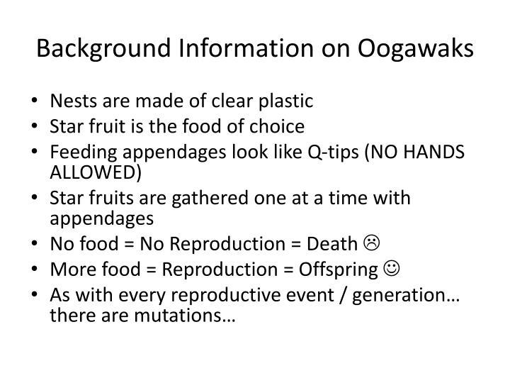 Background Information on