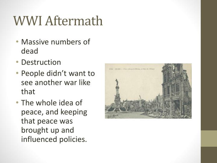 Wwi aftermath