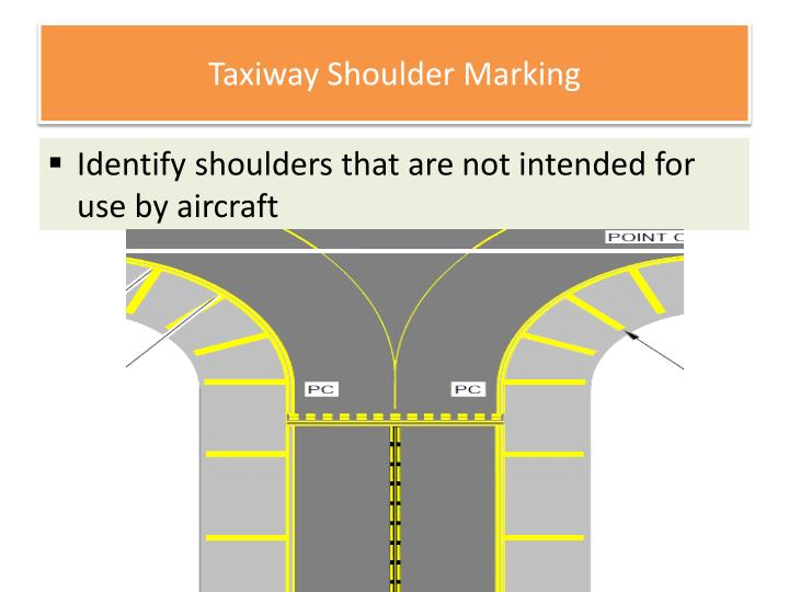 Ppt Airport Lighting Markings And Sign Systems